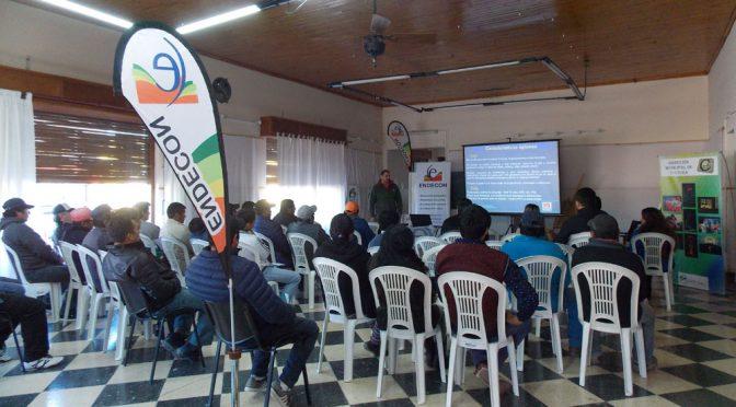 Horticultores de Río Negro participaron en una jornada sobre cultivo de papa