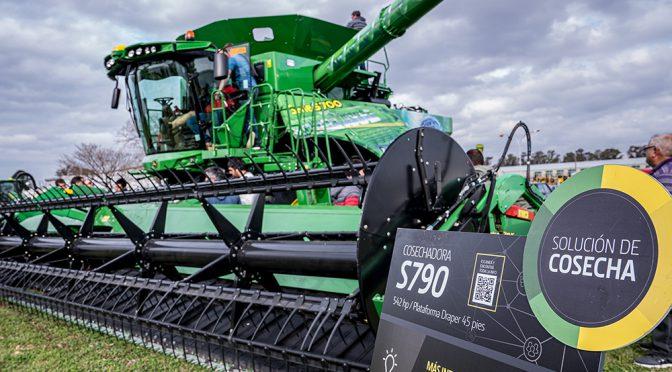 Tecnología, calidad de granos y ahorro en consumo: así es la nueva línea S700 de John Deere