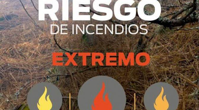 Alerta extremo en Córdoba por riesgo de incendios forestales