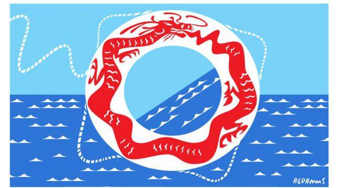 China, el salvavidas para la falta de crédito externo