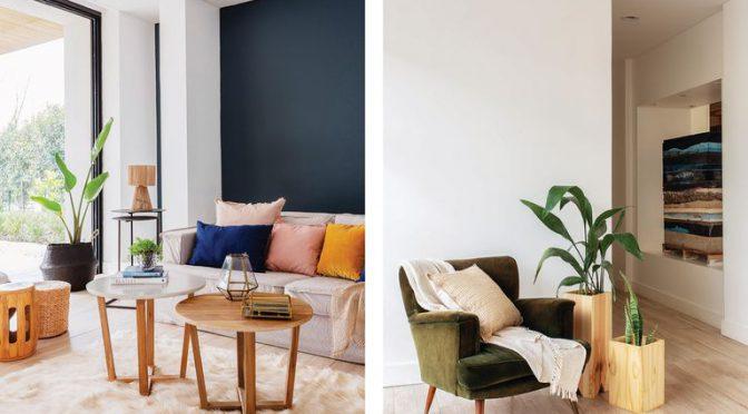 Con colores propios: Una casa tan práctica como elegante para que grandes y chicos disfruten a sus anchas